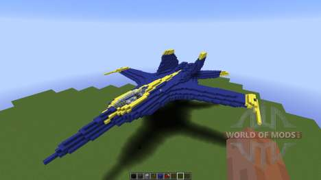 US Navy Blue Angle pour Minecraft
