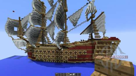 7 ships pour Minecraft