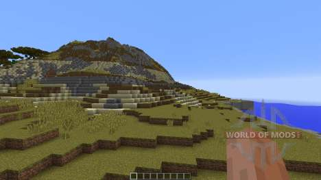 Buluran An African Terrain für Minecraft