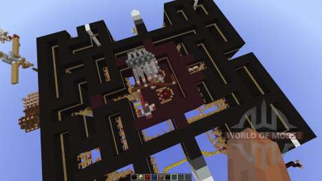 Pacman-Multiplayer new map pour Minecraft