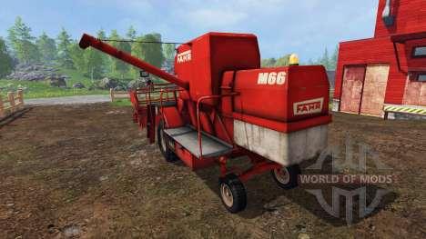 Fahr M66 v1.2 pour Farming Simulator 2015