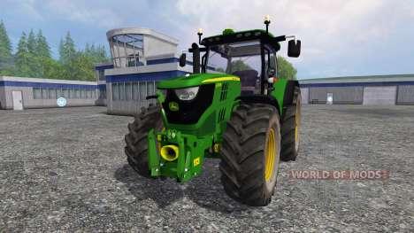 John Deere 6170R v2.2 für Farming Simulator 2015