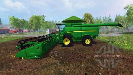 John Deere S680 [Brazilian] pour Farming Simulator 2015