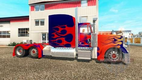 Peterbilt 379 [Optimus Prime] pour Euro Truck Simulator 2