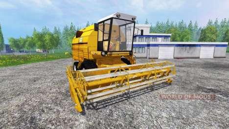 Bizon Z083 [yellow] für Farming Simulator 2015