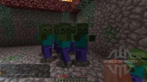 Zombie Defense für Minecraft
