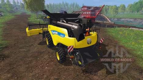 New Holland CR9.90 v1.1 [yellow edition] pour Farming Simulator 2015