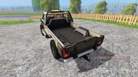 Gekko Utility Vehicle pour Farming Simulator 2015
