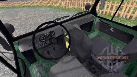 Mercedes-Benz Unimog 416 Forst für Farming Simulator 2015