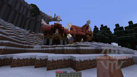 Coldcroth Province of Bone and Scale für Minecraft