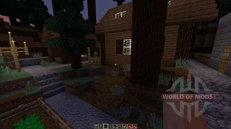 Forest hills village für Minecraft