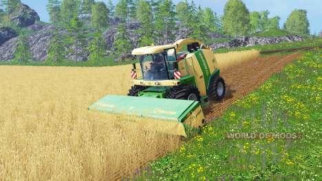 Krone Big X 1100 [128000 liters] für Farming Simulator 2015