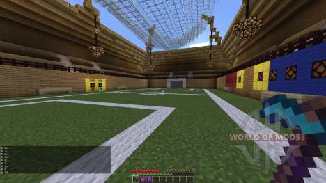 PLAYABLE SOCCER STADIUM pour Minecraft