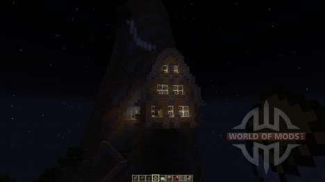 Medieval Mountain House für Minecraft