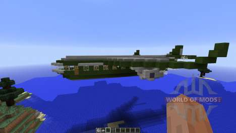 Military aircraft für Minecraft