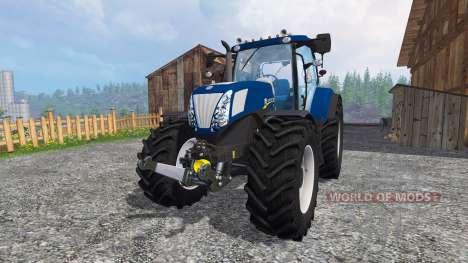 New Holland T7.270 blue power v1.1 für Farming Simulator 2015