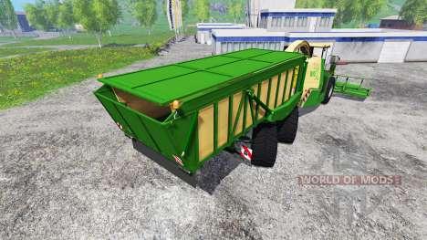 Krone Big X 650 Cargo für Farming Simulator 2015