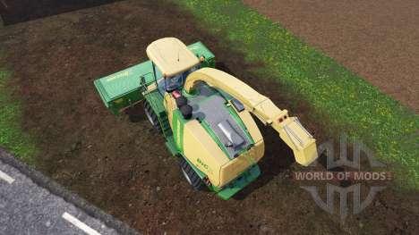 Krone Big X 1100 [inluding cutters] v1.1 pour Farming Simulator 2015