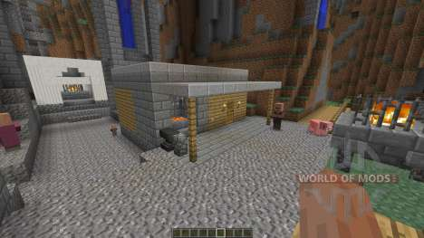 Nebelheim The mountain village für Minecraft