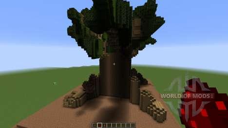 A Minecraft Tree house pour Minecraft