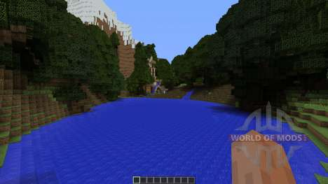 Realistic Lagoon pour Minecraft