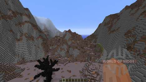 Wasteland of the dragons pour Minecraft