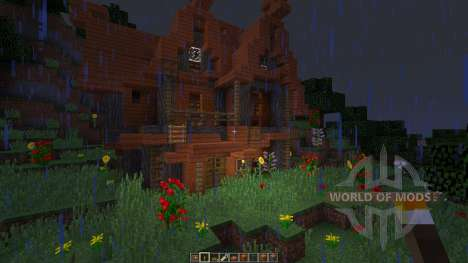 Acacia House pour Minecraft