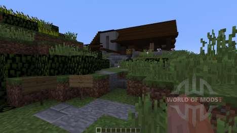 Iris a concept home pour Minecraft