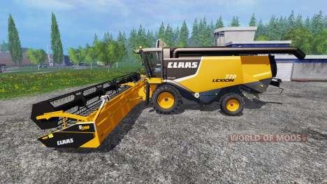 CLAAS Lexion 770 für Farming Simulator 2015