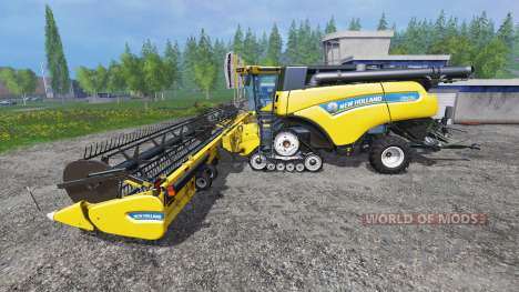 New Holland CR10.90 [harvest pack] pour Farming Simulator 2015