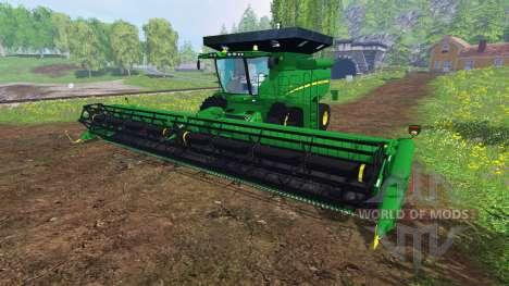 John Deere S 690i v1.0 pour Farming Simulator 2015