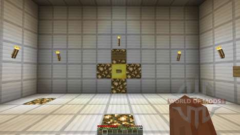 Minecraft Redstone Boss battle mech GlaDOS pour Minecraft