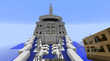 Cruise Ship Silver Cloud pour Minecraft