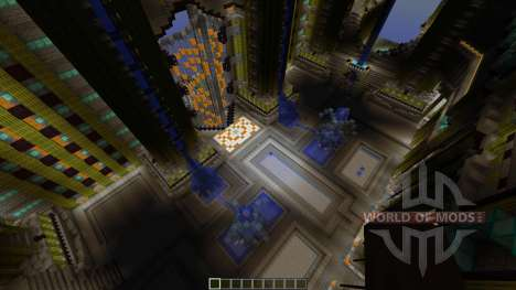Adamantis City of Gods pour Minecraft