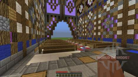 FlatWorld Cathedral für Minecraft