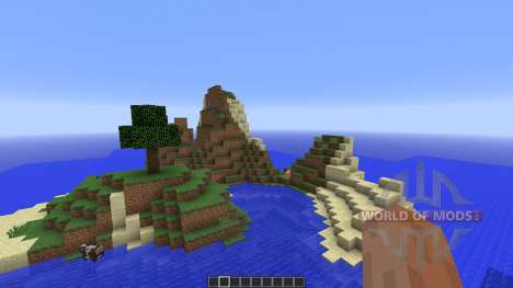 Tropical survival island für Minecraft