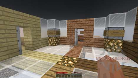 Sky Castle Chunk Battle für Minecraft