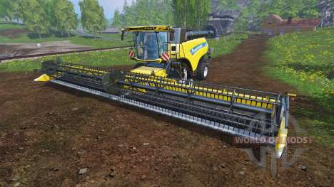 New Holland CR10.90 v1.1 für Farming Simulator 2015