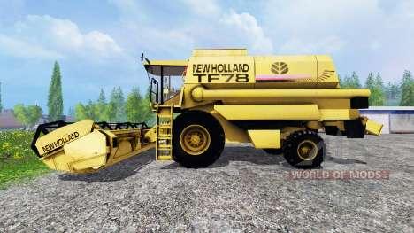 New Holland TF78 v1.1 pour Farming Simulator 2015