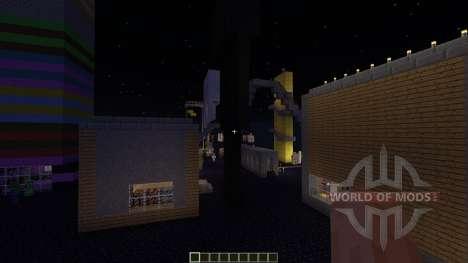 Obsidian island für Minecraft