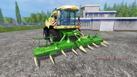 Krone Big X 580 pour Farming Simulator 2015