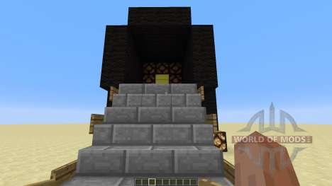 3 X 3 Piston door für Minecraft
