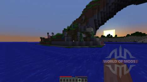 Ender Island A Difficult Island Survival Map pour Minecraft