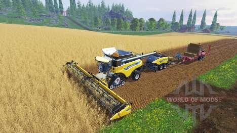 New Holland CR10.90 [multi camera] für Farming Simulator 2015
