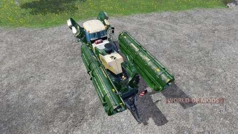 Krone Big M 500 [attach] v2.0 pour Farming Simulator 2015