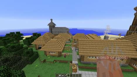 Sziget für Minecraft