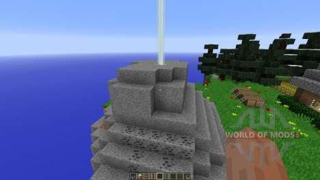 Floating Island Creative Map pour Minecraft