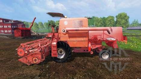 Bizon Z056 pour Farming Simulator 2015