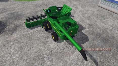 John Deere S680 pour Farming Simulator 2015