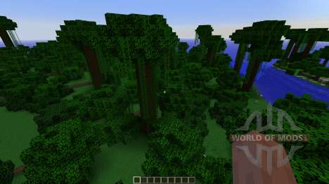 Tropical island pour Minecraft